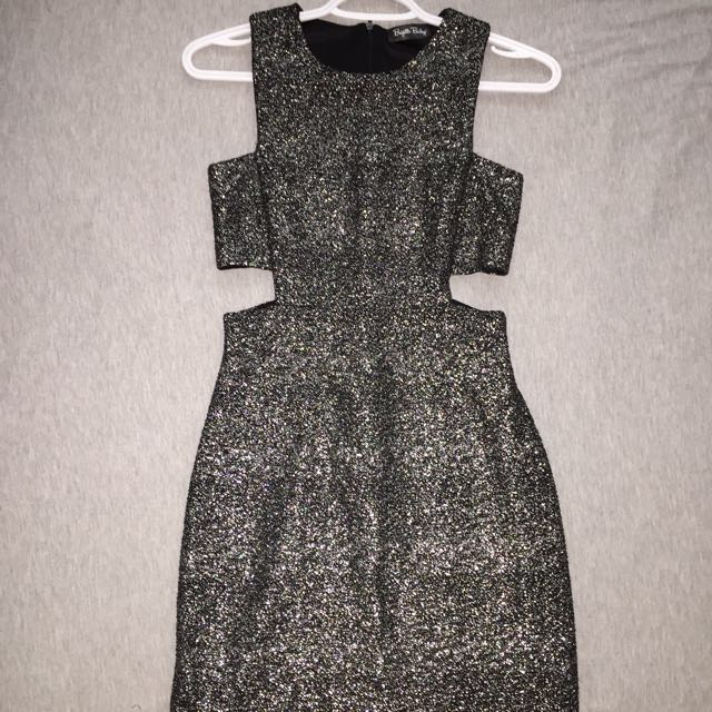 Small Black And Silver Dress