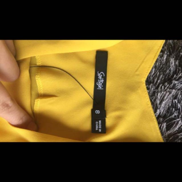 Sportsgirl Yellow Top