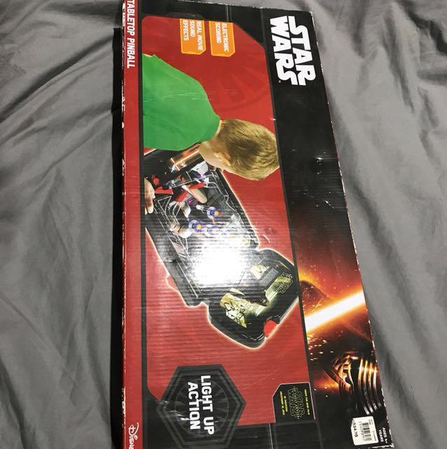 Star Wars tabletop pinball machine