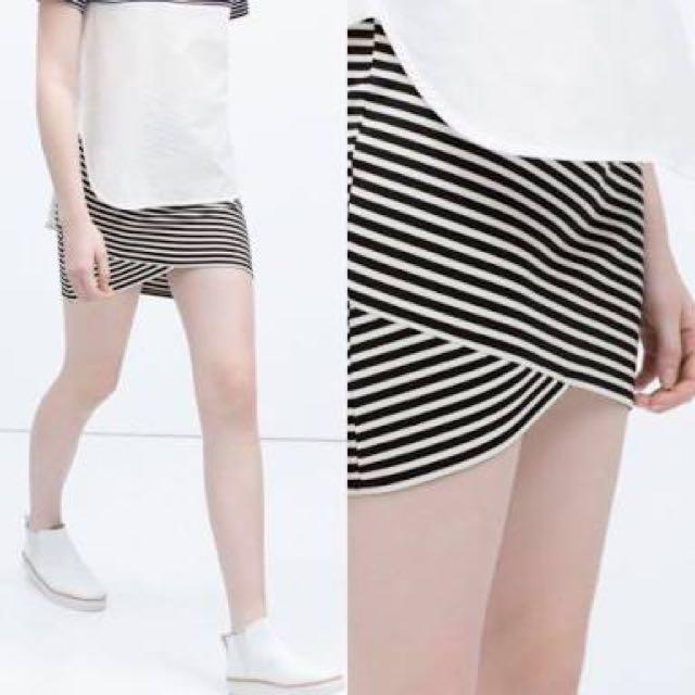 Stripe skirt by zara