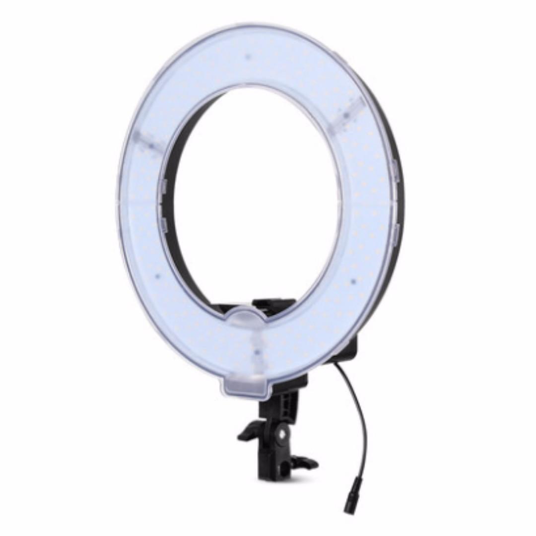 """18"""" LED Ring Light Daylight Warm light Set Studio Photography Make Up Video , Kamera di Carousell"""