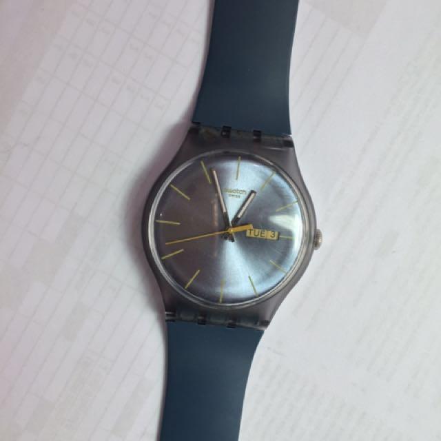 Swatch Watch Blue Rebel