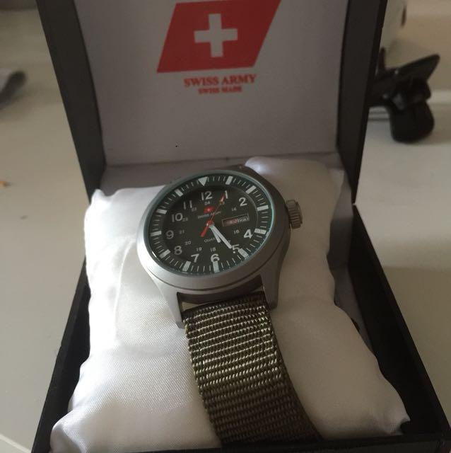 Swiss army watch unisex