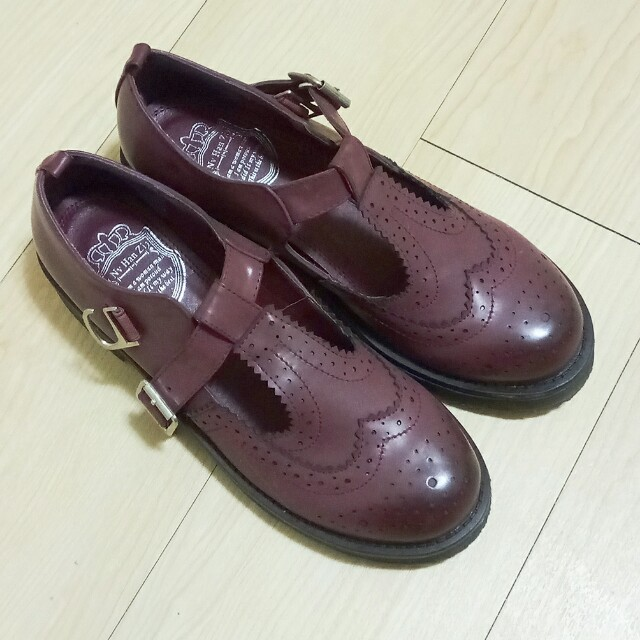 T字39號復古皮鞋#我的女裝可超取