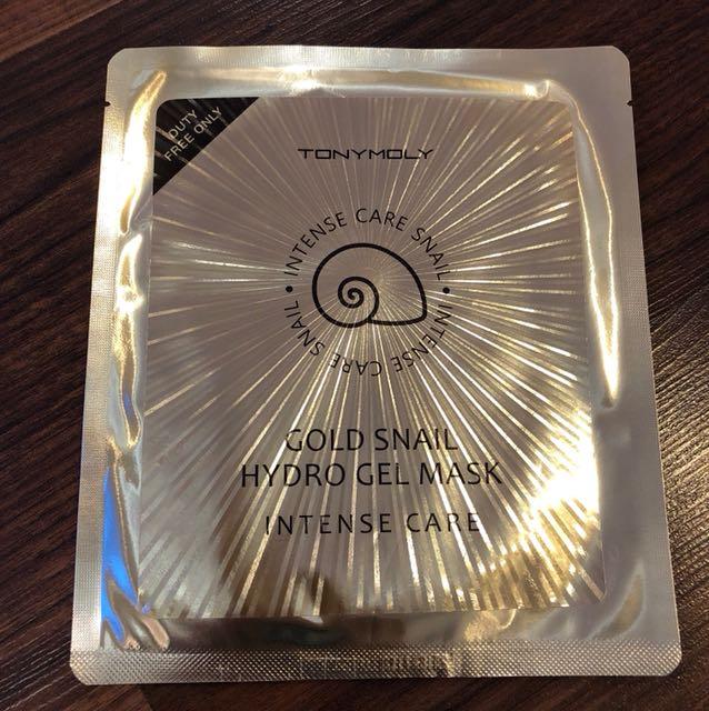 Tony Moly Gold Snail Hydro gel mask