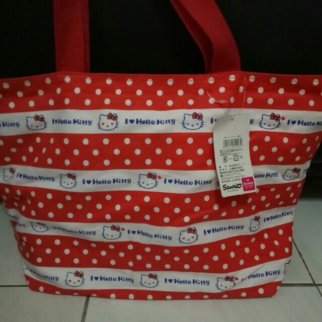 Tote Bag Hello Kitty 100% Original Sanrio