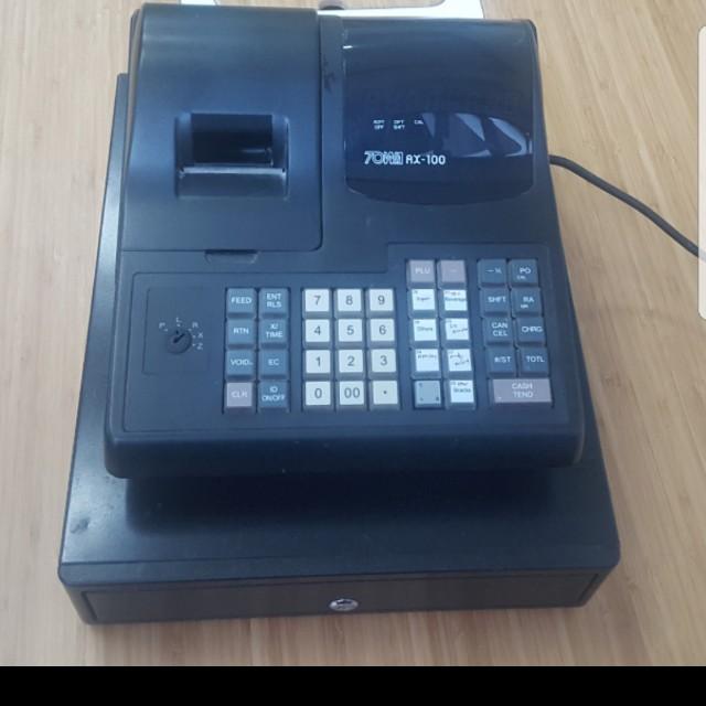 towa ax 100 cash register electronics others on carousell rh sg carousell com towa ax 100 manual free towa ax 100 manual free