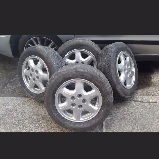 Toyota Corona Exsior 5 Holes Magwheels Auto Accessories Others On