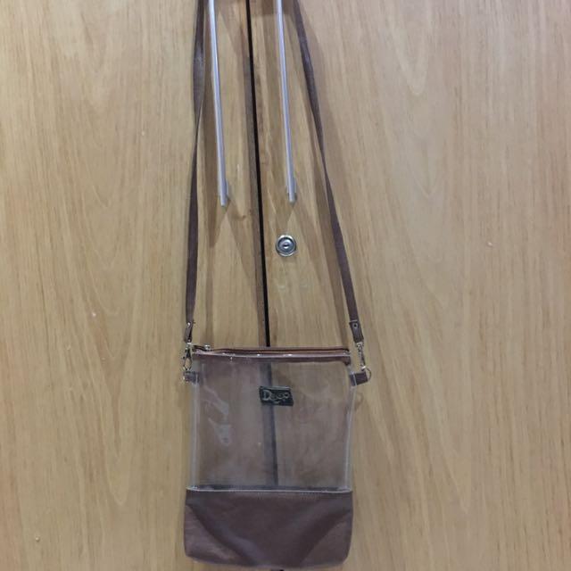 TURUN HARGA Transparent Bag