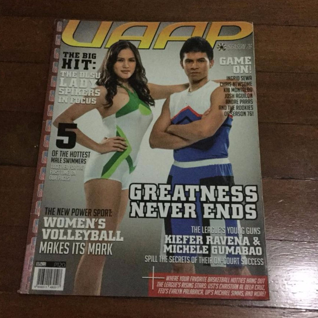 UAAP S76 Magazine