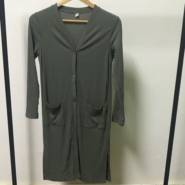 Uniqlo 長版罩衫