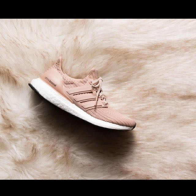0a02ef63e unreleased🔥) Adidas Ultra Boost 4.0 Ash Pearl pink