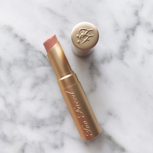 (Used) Too Faced La Creme Lip Cream - Naked Dolly