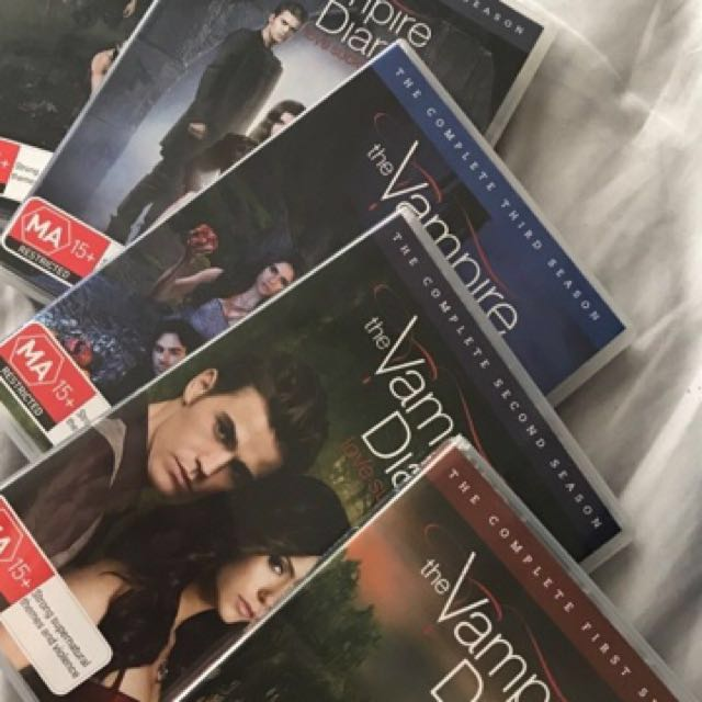 Vampire Diaries Seasons 1-5
