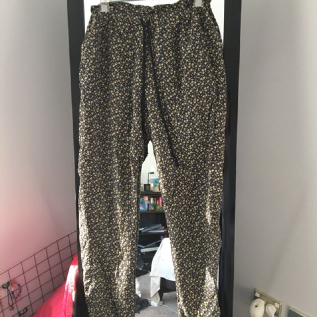 Vintage Aubin & Wills floral pants