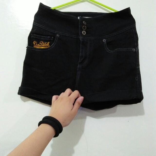 dd956ab6718e Von Dutch Highwaisted Shorts