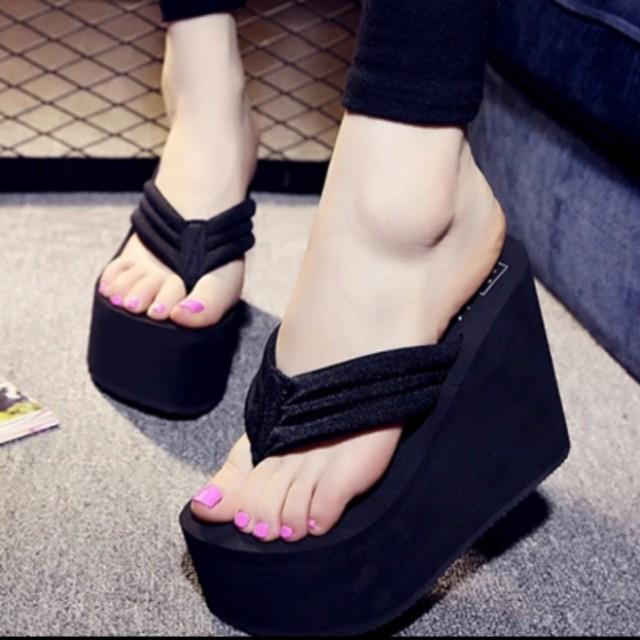 Wedges Sandals 10cm Sz 35