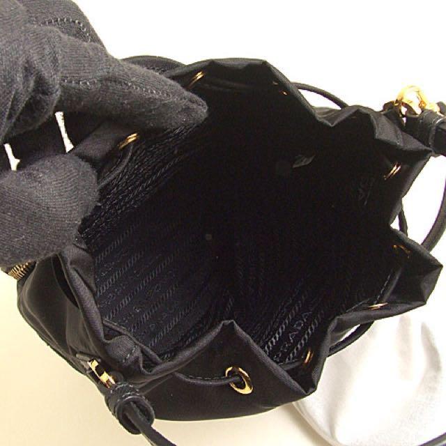 5201f5e0c312 ... low price prada elektra bag 3 xmas sale auth prada mini bucket bag  luxury bags wallets