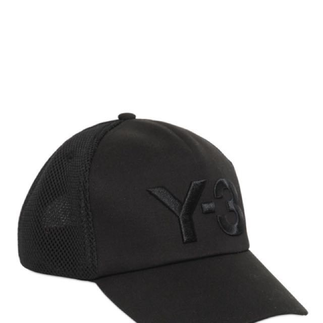 Y3 Trucker Hat Cap (Black) dafdf60bf06