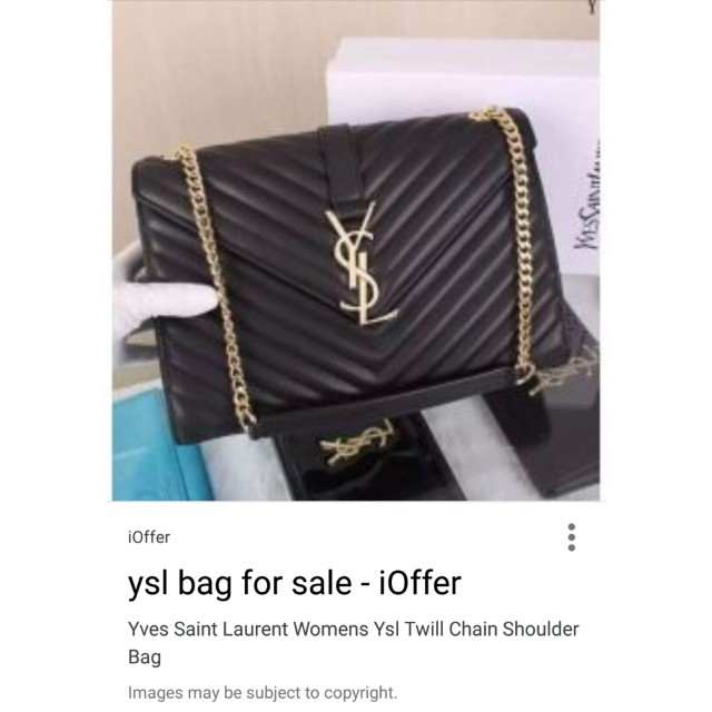8edbfaa236 YSL Twin Gold Chain Women Bag One To One Counter Quality, Women's Fashion,  Bags & Wallets on Carousell