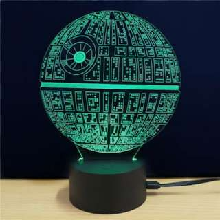 Star Wars Death Star Lamp