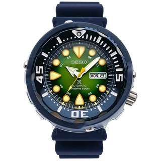 Looking for this seiko Green tuna.