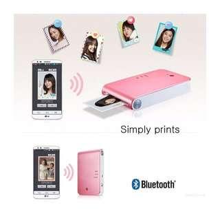 LG Pocket Photo 口袋相印機 甜心粉 PD239PH