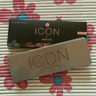 Icon by Absolute Eyeshadow Palette Exposed