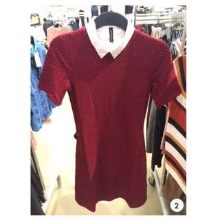 H&M Red Dress (Exclude Inner)