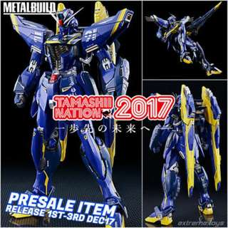 Immediate Stock Gundam Tamashii 2017 Metal Build F91 Harrison Maddon