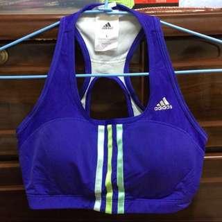 🚚 愛迪達 adidas 運動內衣 紫色 中高強度