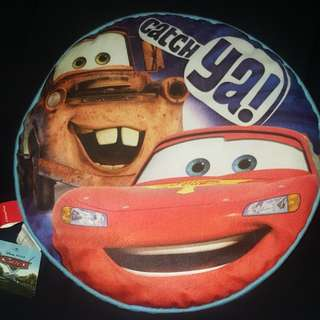 Disney Pixar Cars Buddies Round Cushion