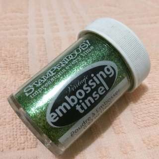 STAMPENDOUS EMBOSSING TINSEL