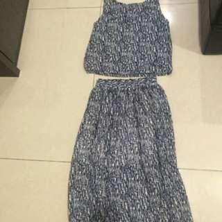 兩件式背心裙#手滑買太多