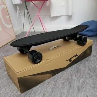 全新 電動滑板 魚板