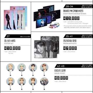[PRE-ORDER] <Official> BTS The Wings Tour Final in Seoul Goods