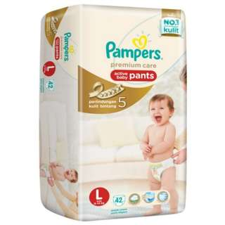 Pampers Premium Care Pants L 42 x 2 packs