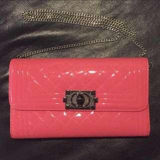 粉色鍊條包