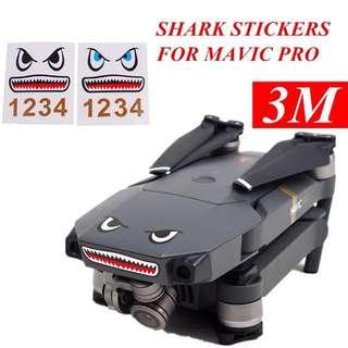 [PO] DJI Mavic shark sticker