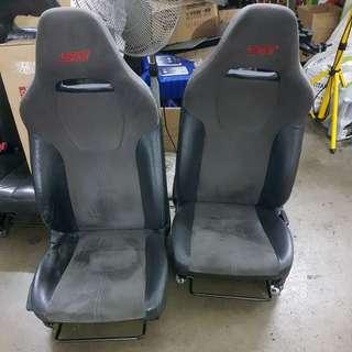Subaru V10 STI seats