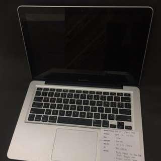 "Macbook Pro 13"" MD101 mid 2012"