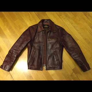 B-McCoy's Leather Jacket Vintage RRL LVC UES Warehouse Pherrow's Sugar Cane Mister Freedom The Flat Head Workwear