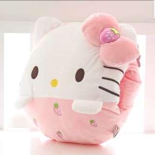 Hello kitty暖手枕