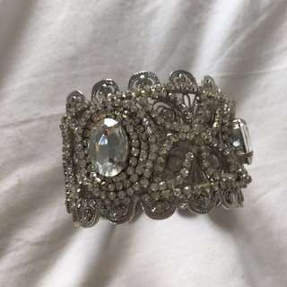 Shandar Custom-made Bangle with Swarovski Crystals