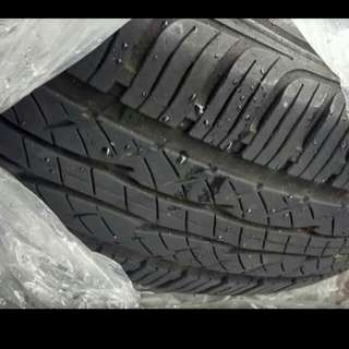 Kumho tires-set of 4