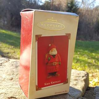Kris kringle-hallmark keepsake ornament