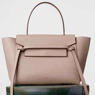 Authentic CELINE Belt Bag in Light Taupe. 2015 Collection (Small)