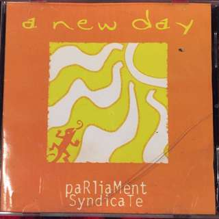 Parliament Syndicate - A New Day #opm music cd