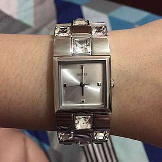 GUESS studded wristwatch