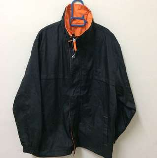 Dual Colours Raincoat Jacket